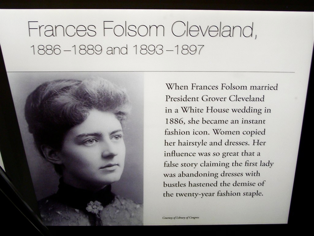 Youngest First Lady Frances Folsom Was Just 21 When She Ma