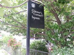 """Connor's """"Corner"""" Square"""
