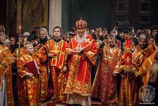 Пасхальное богослужение 415