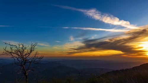 sandiego california palomar sunset sky clouds timelapse mountain view vista weather