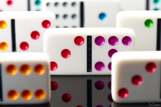 Dominoes on Parade