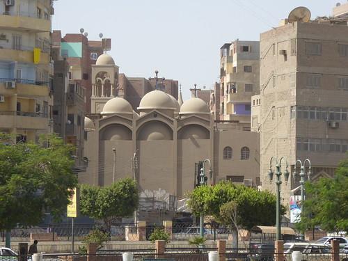 minya egypt architecture church coptic orthodox