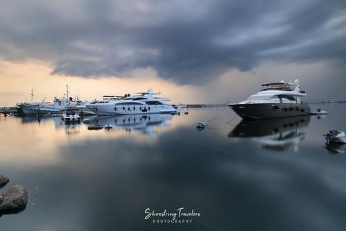 manilabay sunset cloud metromanila philippines sea seascape seaside water waterscape longexposure ndfilter boat outdoor landscape sky