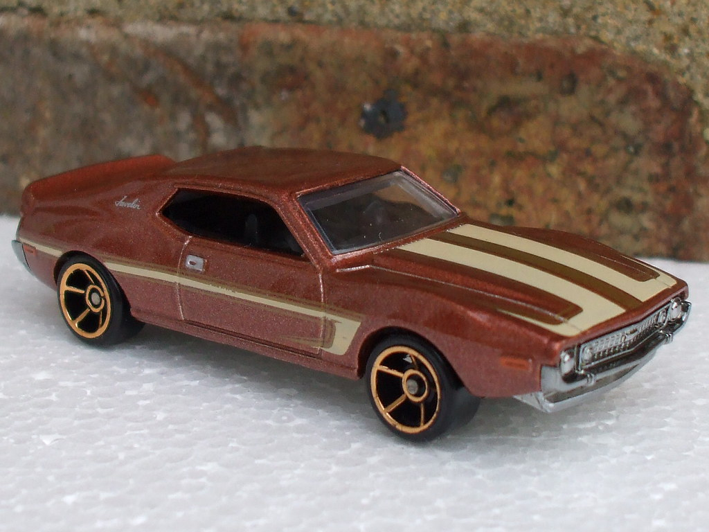 Hot Wheels Metallic Brown AMC Javelin AMX | Hot Wheels Metal… | Flickr