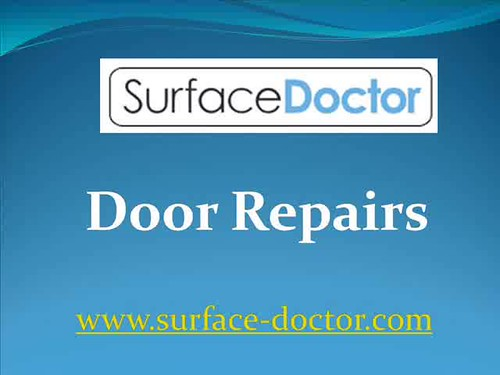 Door Repairs - Surface-doctor.com