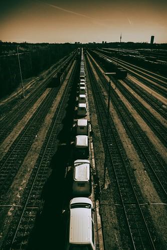 Auto Train From Munich   by orkomedix