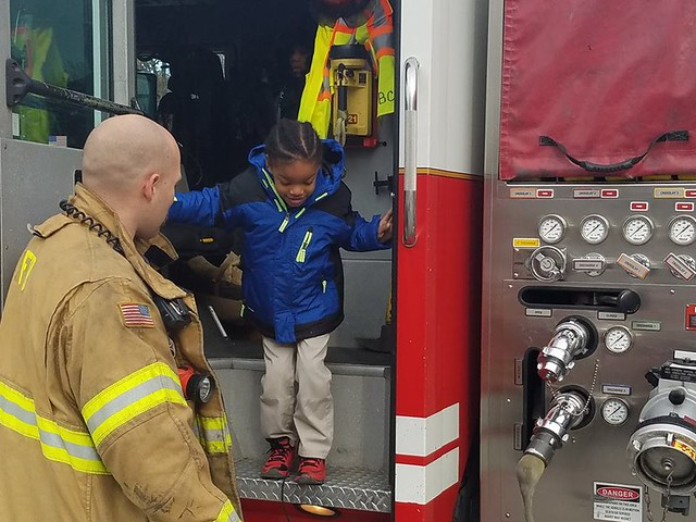 Fire Department Field Trip 2016