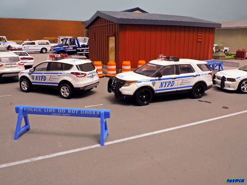 NYPD on File for the Fall Festival Photo