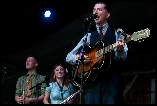 Pokey LaFarge at Jazz Fest 2013. By Ryan Hodgson-Rigsbee (http://rhrphoto.com/)
