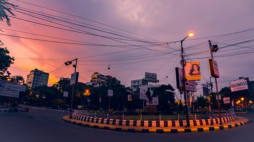 india sunrise morninglight kolkata atdawn saltlakestadium fe1635mmf4zaoss ilce7m2