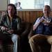 Jean-François Michaud et Andrew Lee de Radio-Canada pour le tournage de la Semaine verte