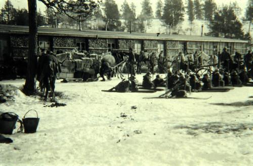 Avmarsj fra vinterdistriktet i Karasjok
