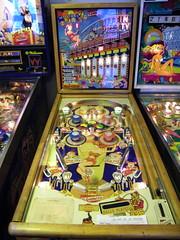 1958 Gottlieb Sittin' Pretty Pinball Machine