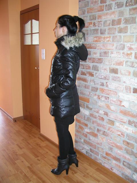 black long shiny