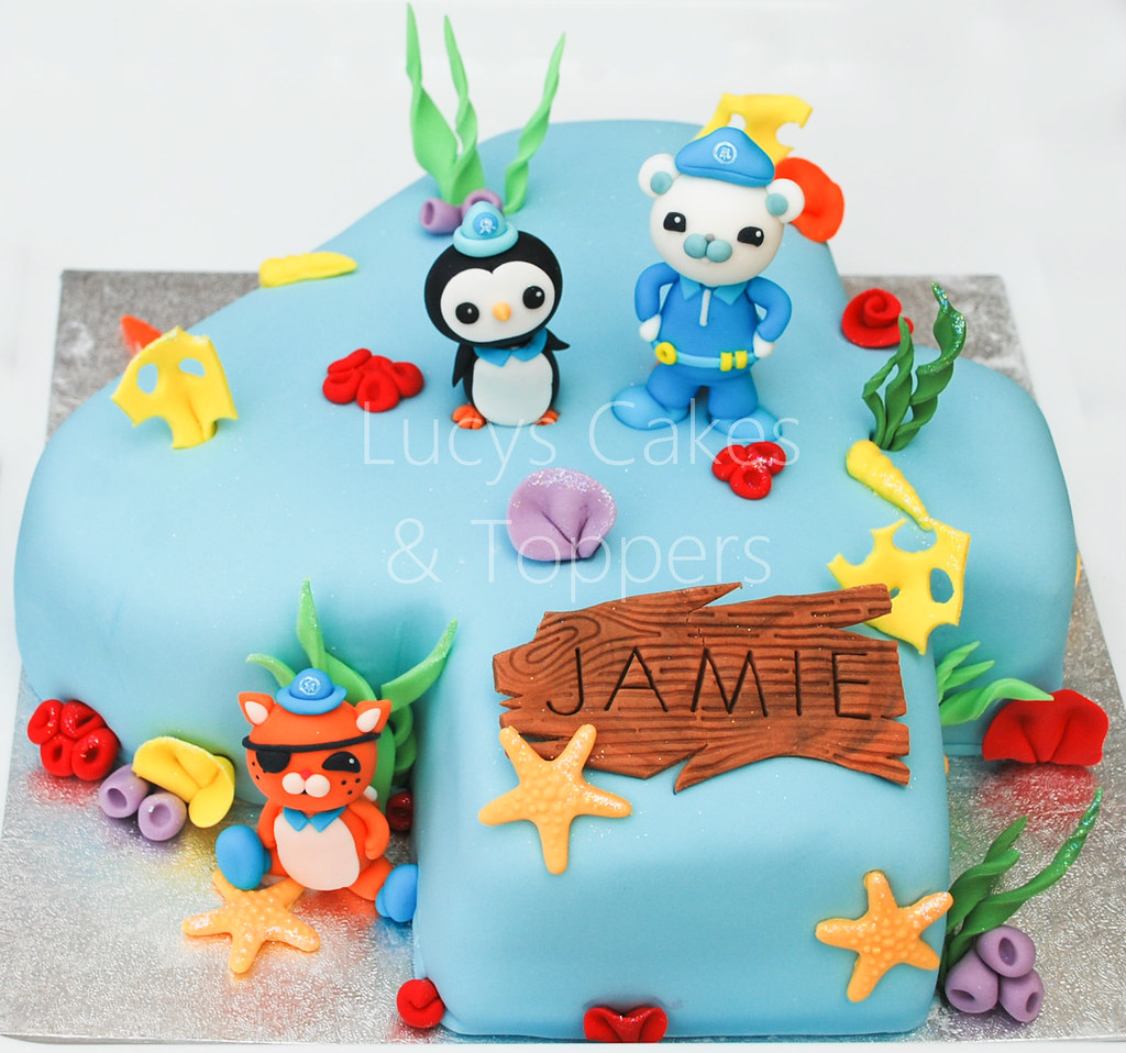 Stupendous Octonauts Birthday Cake Visit Me And Like My Facebook Page Flickr Funny Birthday Cards Online Alyptdamsfinfo