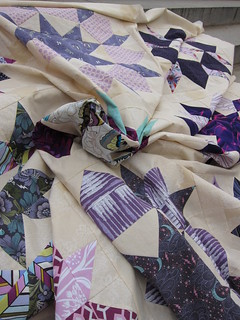 P & B Swoon Quilt Top   by Everyday Fray