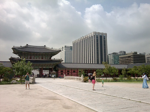 Old and new, Seoul   by Helen in Wales