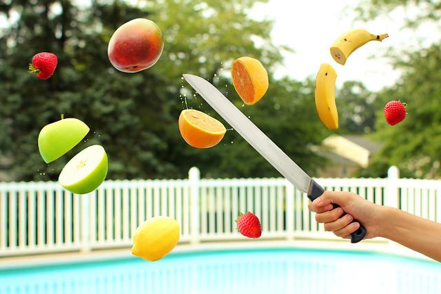 Floating Fridays: Fruit Ninja!