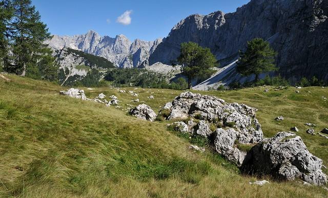 Julské Alpy - Planina Sleme