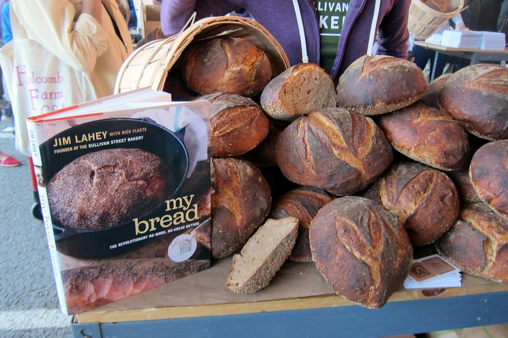 NYC: New Amsterdam Market - Bread Pavilion - Sullivan Stre