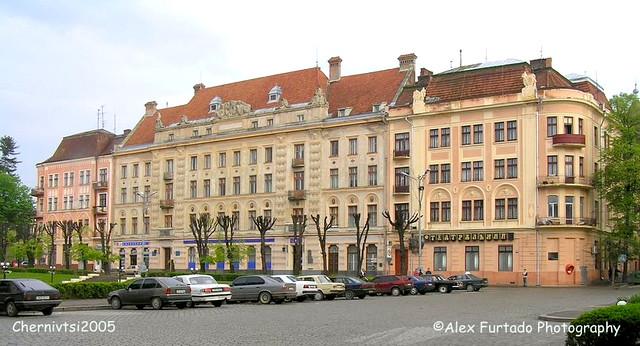 Chernivtsi buildings 2