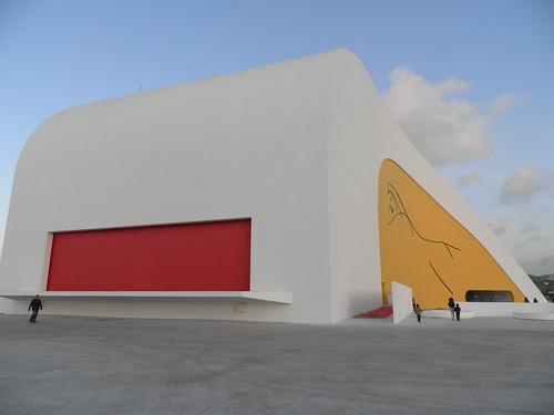 El auditorio de Niemeyer