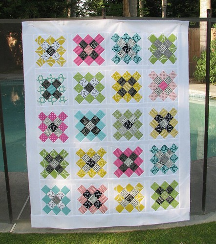 Granny Square Quilt top | by Sew-Fantastic
