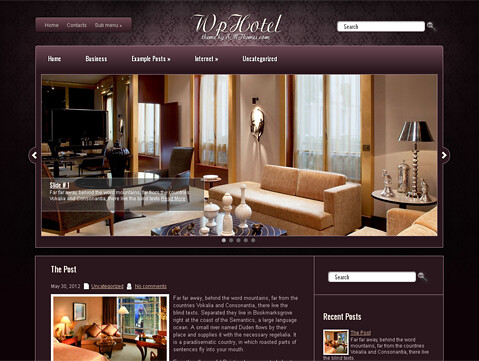 WpHotel | by SMThemes