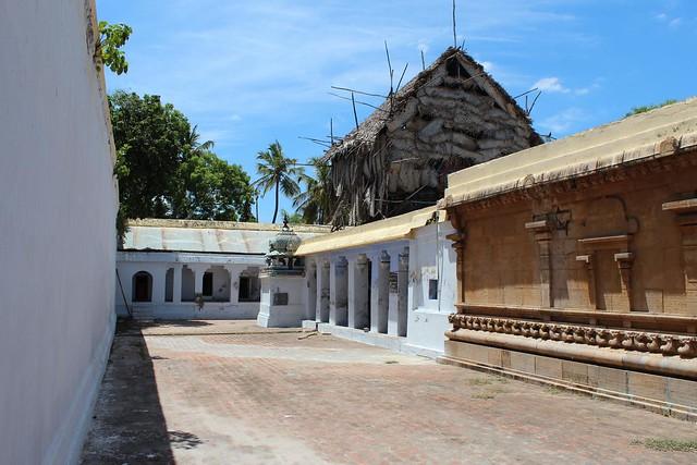 Vimanam of Shiva shrine