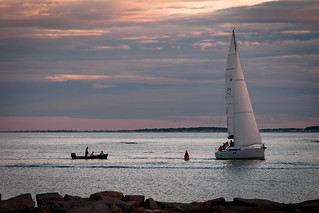 Putting Into Scituate Harbor | by Daniel Hagan
