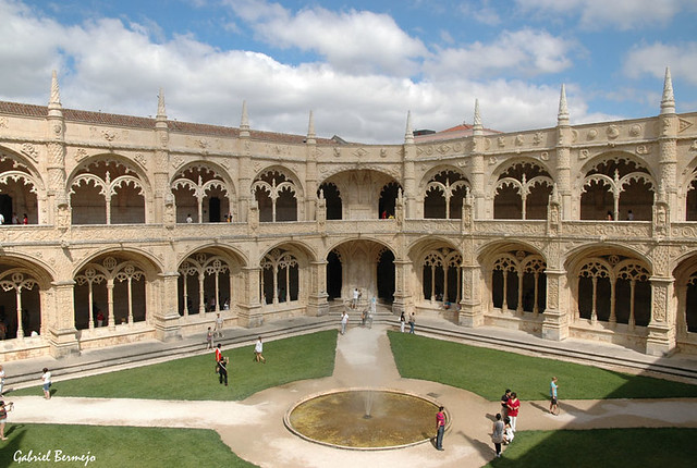 Claustro del Monasterio de los Jeronimos - Lisboa