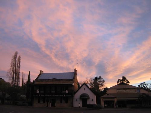 sunset australia nsw newsouthwales southernhighlands berrima