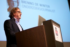 Brenno de Winter bij het Nationaal Privacy Debat
