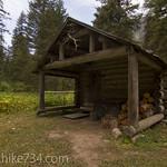 Lower Nyack Creek Patrol Cabin