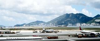 Hong Kong   -    Kai Tak Airport   -    24 June 1971 | by Ladycliff