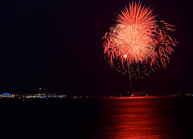 Navy Pier Fireworks, Chicago 2