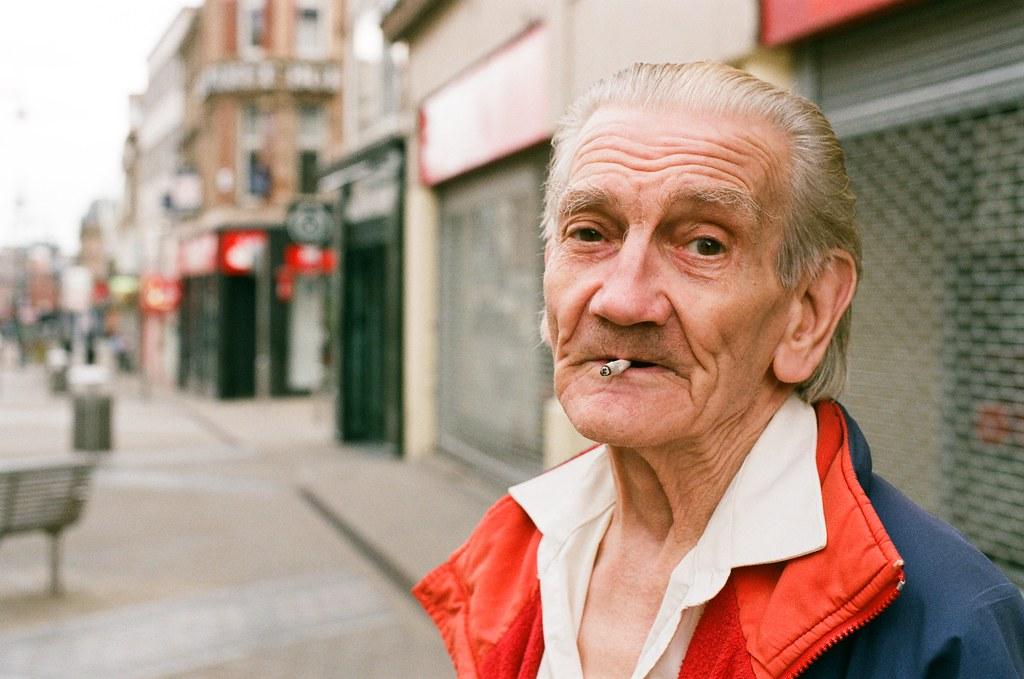 Brian Lawrenceson, Briggate, Leeds.