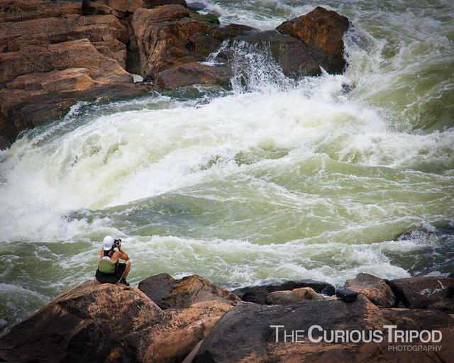 Photographer at Great Falls