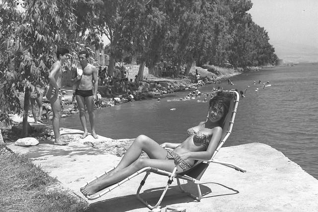On the Beach at Tiberias