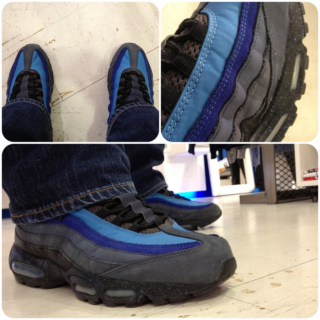 precio baratas belleza estética de lujo Nike Air Max 95 'Stash' Harbor Blue / Black - V Royal - Md… | Flickr