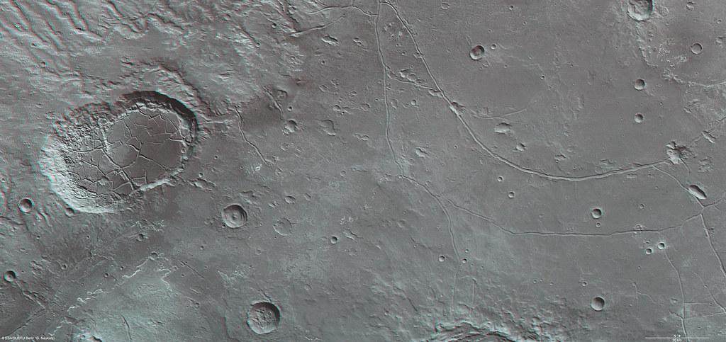 Mars in 3D: Ladon Valles