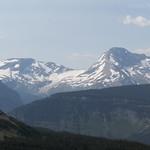 Mt. Jackson with Jackson Glacier and Blackfoot Glacier