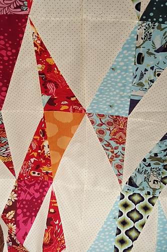 Twizzle Quilt First Two Rows | by Maggie Muggins Designs