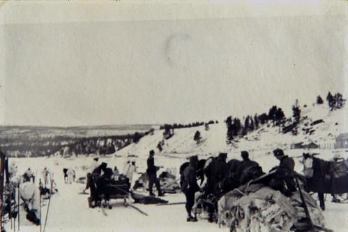 Regimentstrening i  Ássebákti, Karasjok