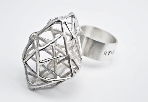 "ring ""V. Tatlin""  silver  May 2012"