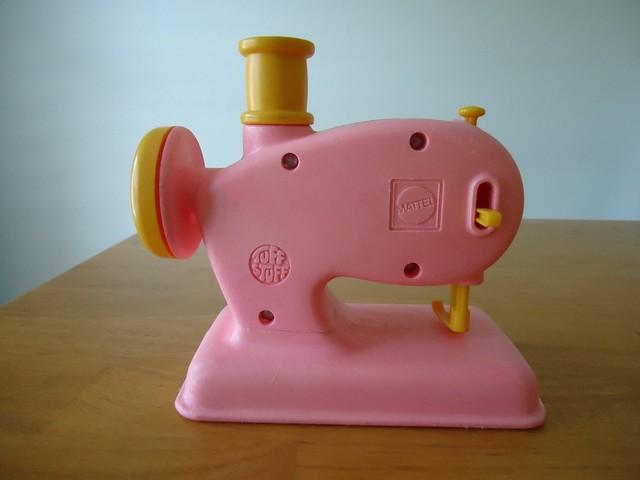 Mattel Tuff Stuff Sewing Machine toy from 1972