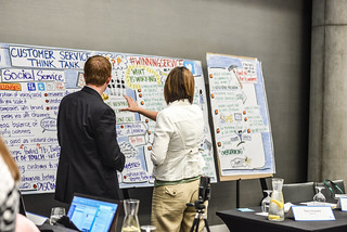 Customer Service Think Tank hosted by Dell   by Dell's Official Flickr Page