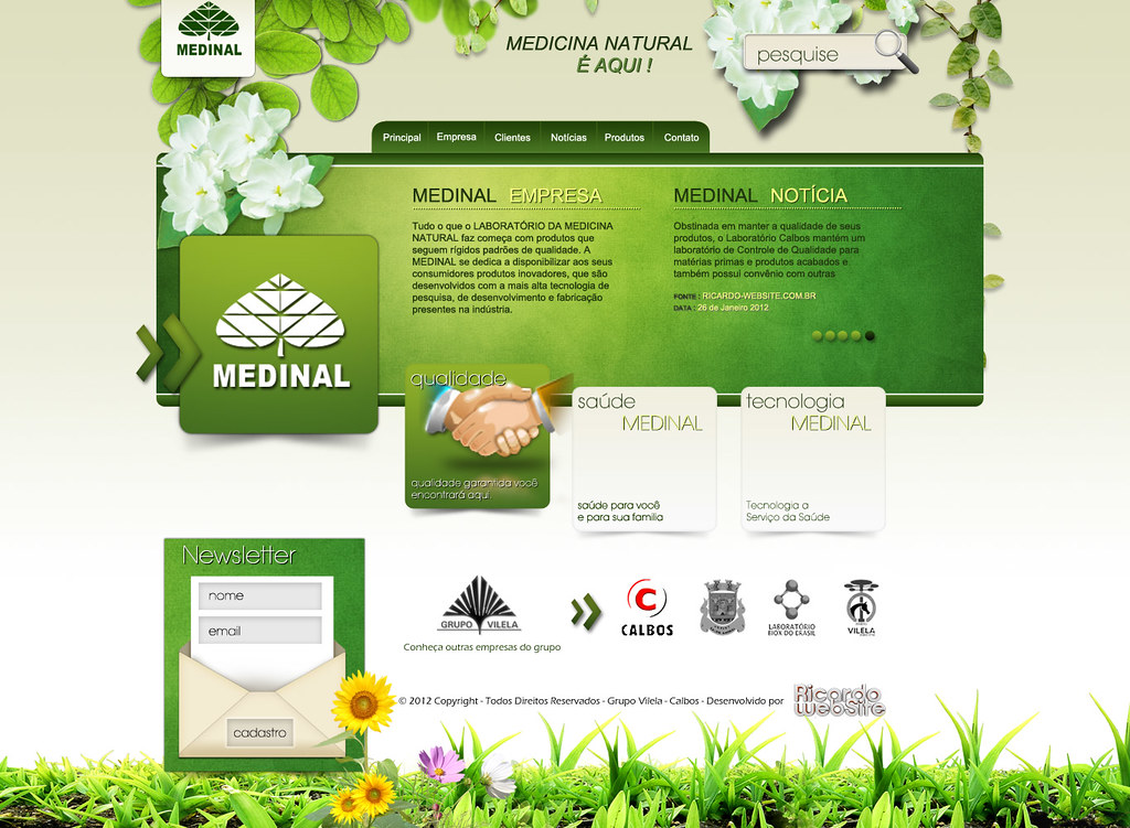 Web Site - Medinal