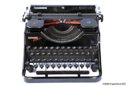 Hermes Media typewriter   by shordzi