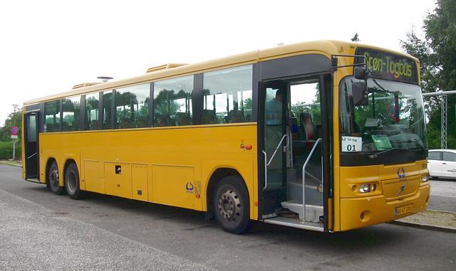 2004 Volvo B12M AU47336 Lokalbus 9004 railway replacement